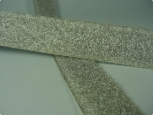 Klettostar® loop with silver vaporised finish