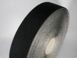 Velours - with adhesive 23 - width 20mm - black - 25m